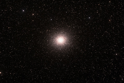 Caldwell 80 - NGC5139 - Omega Centauri Globular Cluster - 21/2/2015 (Processed stack)