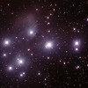 Messier M45 - Pleiades - Seven Sisters - Subaru - Matariki - 16/10/2015 (Processed cropped stack)