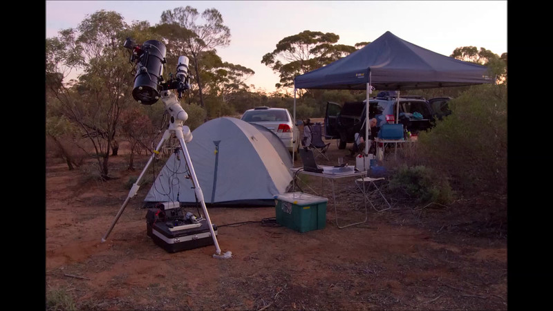 Summary of Imaging at Karalee Rocks - 23/5/2015 (Processed stills into video)
