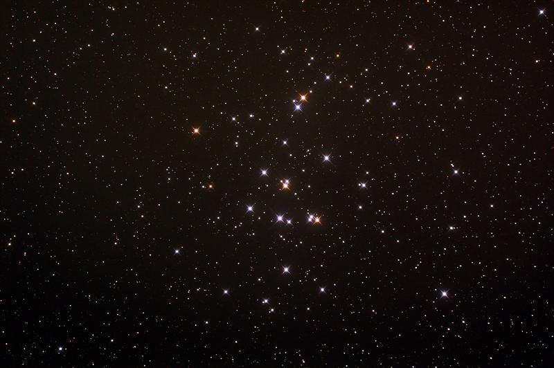 Messier M44 - NGC2632 - Praesepe or Beehive Cluster - 22/3/2015 (Processed stack)