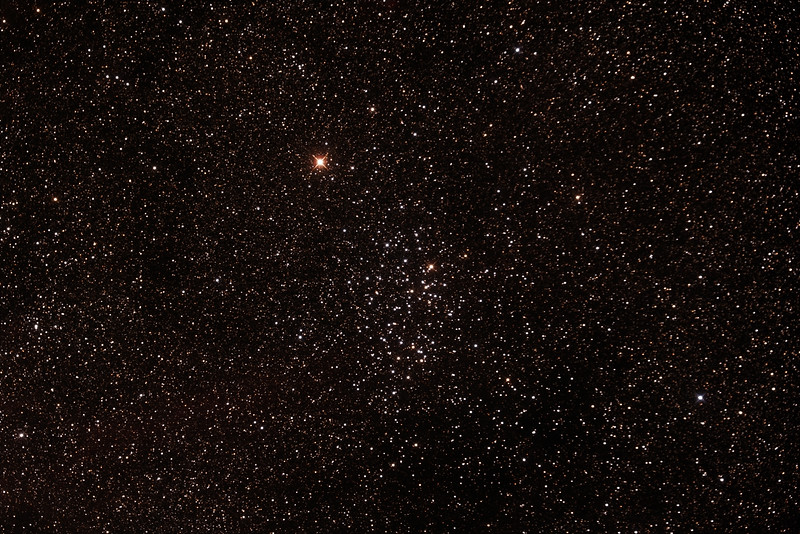 Caldwell 91 - NGC3532 - Wishing Well Cluster - 20/4/2015 (Processed stack)