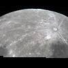 Partial Mosaic of Near Full Moon - 4/1/2015 (Processed stacks)