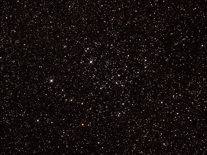 NGC3114 Open Cluster in Carina - 20/4/2015 (Processed cropped stack)