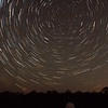 South Polar Star Trails - 22/3/2015 (Processed stack)