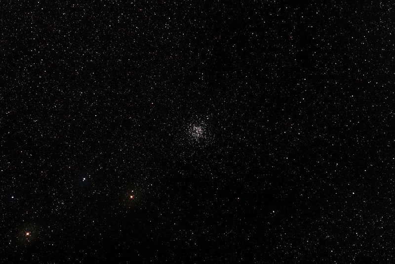 Messier M11 - NGC6705 - Wild Duck Cluster in Scutum - 22/6/2015 (Processed stack)