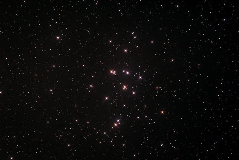 Messier M44 - NGC2632 - Praesepe or Beehive Cluster - 21/2/2015 (Processed stack)
