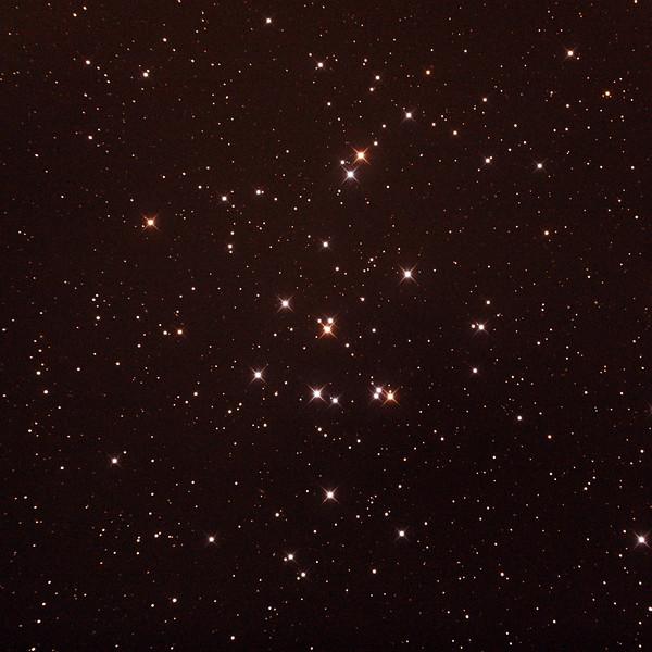 Messier M44 - NGC2632 - Praesepe or Beehive Cluster - 26/1/2017 (Processed cropped stack)