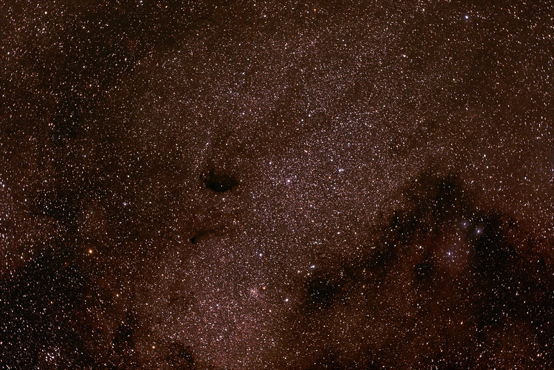 Messier M24 - IC4715 - Small Sagittarius Star Cloud - 17/6/2017 (Processed Stack)