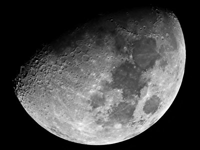 Gibbous Moon - 3/6/2017 (Processed stack)