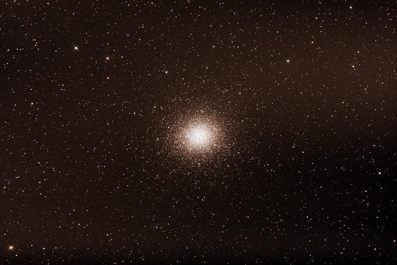Caldwell C80 - NGC5139 - Omega Centauri Globular Cluster - 24/2/2017 (Processed stack)