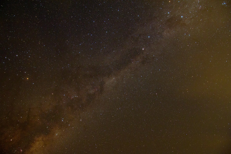 Milky Way 'Head of the Emu' - 20/4/2017 (Processed Single Test Image)
