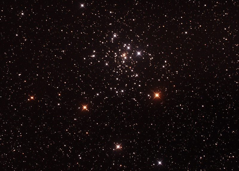 Caldwell C96 - NGC2516 - The Diamond Cluster/Southern Beehive - 3/2/2017 (Processed cropped stack)