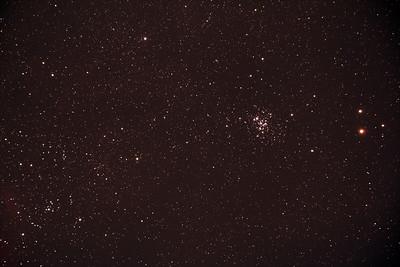 Caldwell C76 - NGC6231 - False Comet Cluster in Scorpius - 7/4/2017 (Processed Stack)