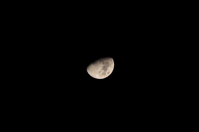 Gibbous Moon - 3/6/2017 (Processed single image)