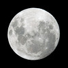 Near Full Moon - 5/11/2017 (Processed singe image)
