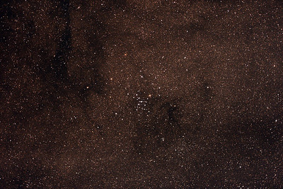 Messier M7 - NGC6475 - Ptolemy's Cluster - 3/6/2017 (Processed stack w/FLATS)