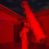 "c1910 12.5"" Calver Newtonian Telescope in red light - 26/1/2016"