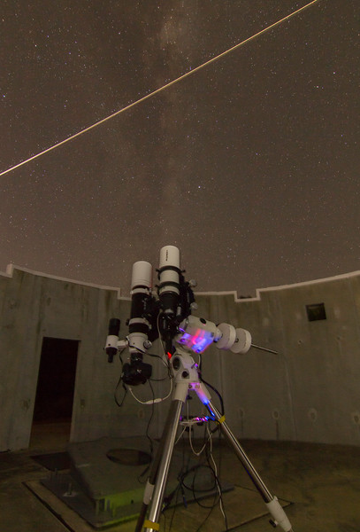 Skywatcher ED80 at Perth Observatory - 17/6/2017