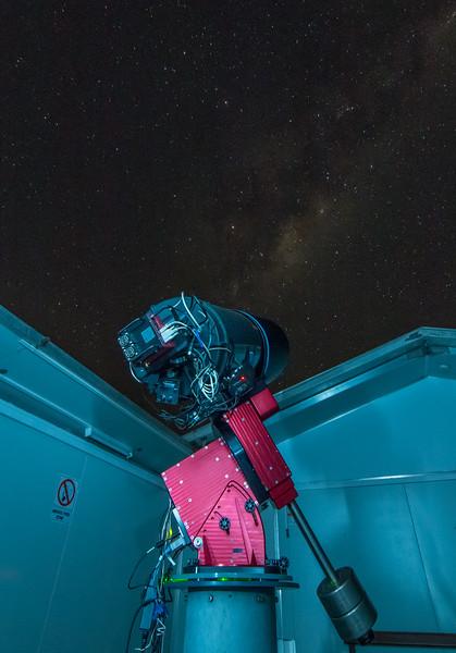 """R-COP Celestron 14"""" Under Sagittarius & Scorpius - 29/5/2017"""
