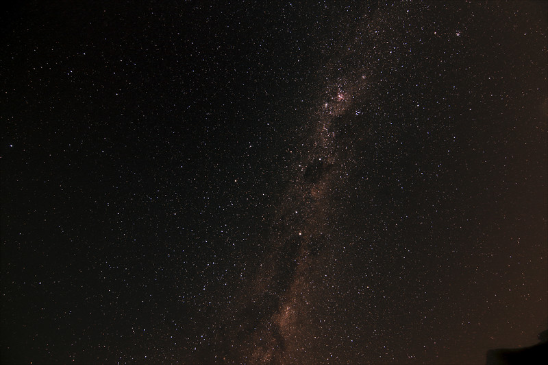 Milky Way 'Head of the Emu' - 29/3/2017 (Processed stack)