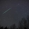"""Time lapse video of a Geminid fireball and its persistent train (looks like a brownish """"puff"""" right behind the meteor). To see it better, go to the settings below and make sure that HD is selected! The real time sequence is 4.5 minutes (the meteor lasted about 1 second, and the glowing train lingered for much longer).<br /> <br /> Canon 5D, Rokinon 24mm f.1.4 lens (set at f2.0)<br /> <br /> Morning of December 14, 2017"""