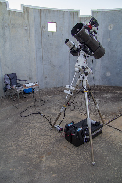 Set Up for Astrophotography - 12/01/2018