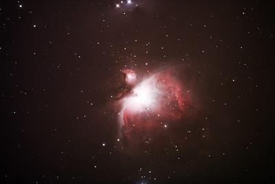 M42 NGC1976 Orion Nebula - 31/1/2018 (Processed stack)