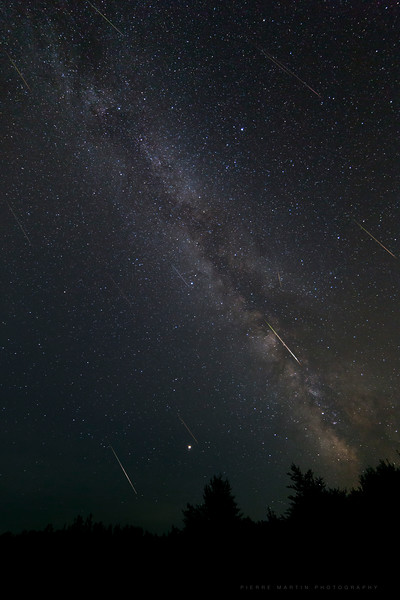 Perseids and Summer Milky Way