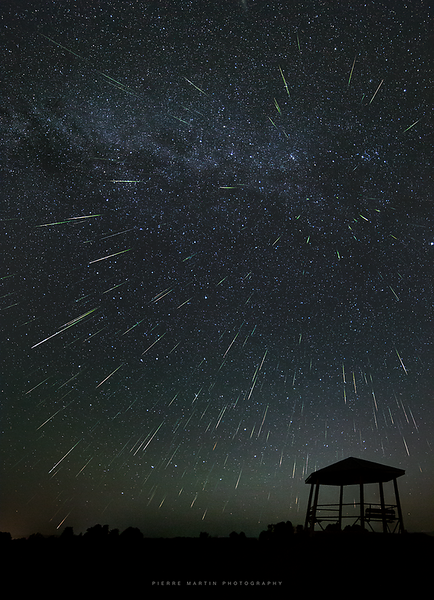 Unexpected Perseids meteor outburst on August 13/14 2021!