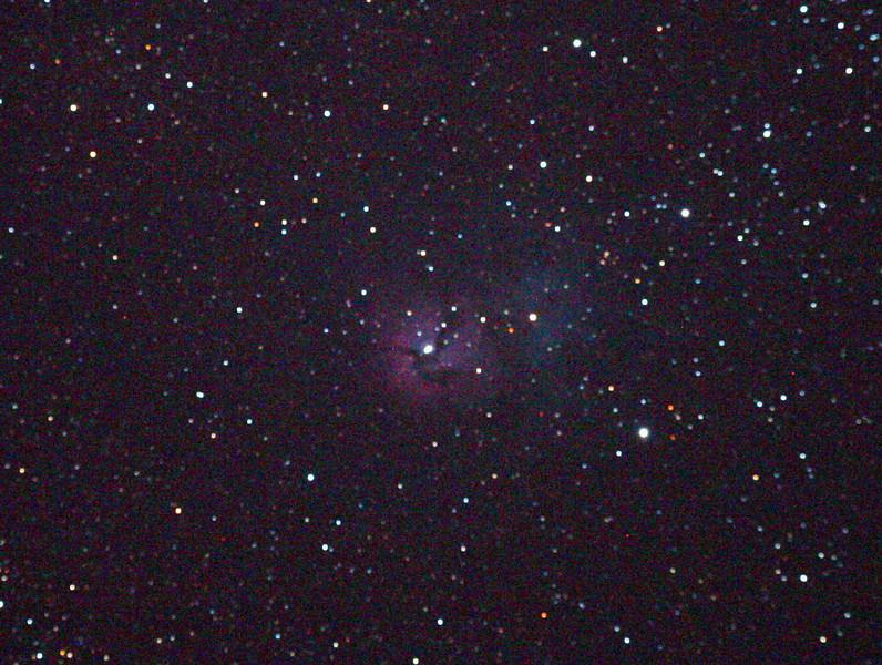 Messier M20 - NGC 6514 - The Trifid Nebula 25/09/2010 (Processed)
