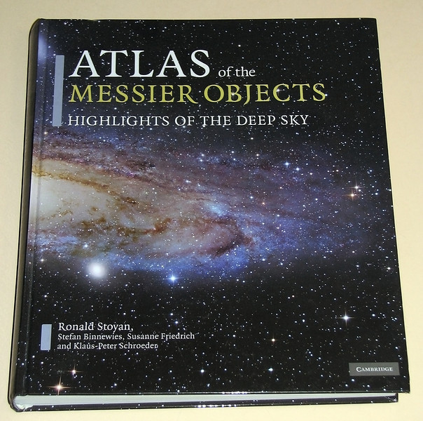 Atlas of Messier Objects by Ronald Stoyan ordered 17/11/2010