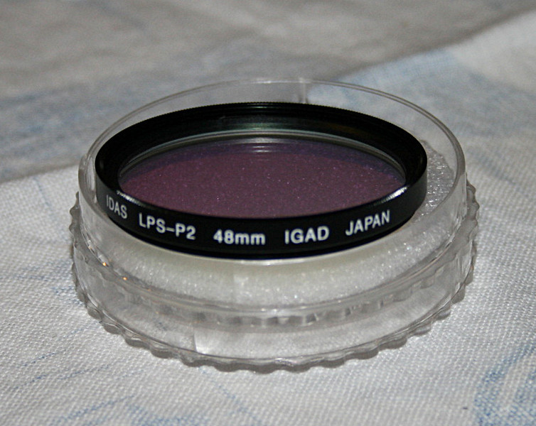 Light Pollution Filter - first used 24/10/2010