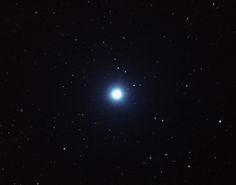 Sirius - Alpha Canis Majoris - The Dog Star - 29/12/2010 (Processed stack)