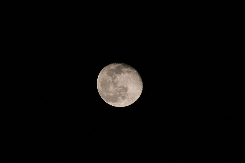 Gibbous Moon (17 days old) - 25/09/2010 (Original)