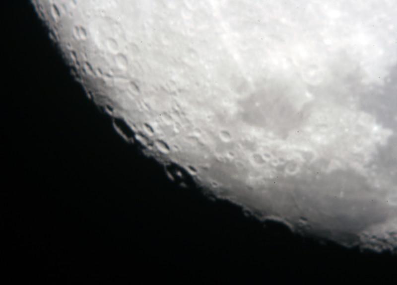 Lunar Limb at 17 days old - 25/09/2010 (Processed)