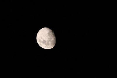 First Light for the Apogee 80 - The Gibbous Moon (11 days old) - 19/09/2010 (Original)