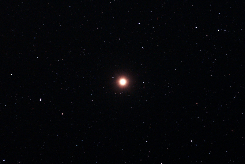 Betelgeuse - Alpha Orionis - 29/12/2010 (Processed stack)