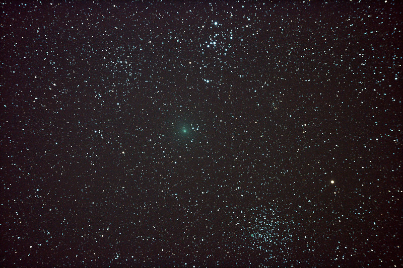 Comet 103P/Hartley 2 near M46 & M47 - 28/11/2010 (Processed Stack)