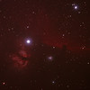 IC434 Horsehead Nebula near Star Alnitak - 8-10/12/2010 (Cropped & re-processed 3 night stack)