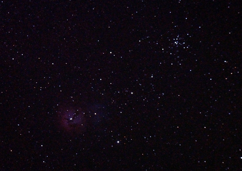 Messier M20 - NGC 6514 - The Trifid Nebula 3/11/2010 (Processed JPEG)