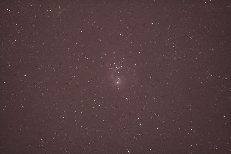 Messier M8 - NGC 6530 - Lagoon Nebula and Cluster 25/09/2010 (Original)
