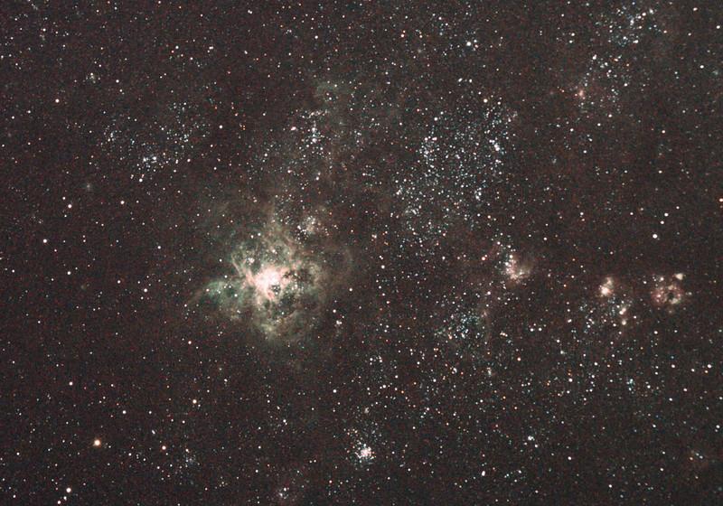 Caldwell 103 NGC2070 30 Doradus Tarantula Nebula 12/11/2010 (Processed RAW stack)