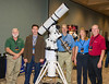 Astro-Physics: George Whitney, Ray Gralak, Howard Hedlund, Marj Christen, Roland Christen<br /> The scope is an Astro-Physics 175mm EDF refractor riding the new 1600GTO equipped with Encoders. With the APCC software, written by Ray, 30-minute unguided exposures are possible.