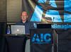 "Alan Erickson of Adobe's Photoshop development team delivering his talk on ""Image Processing"""