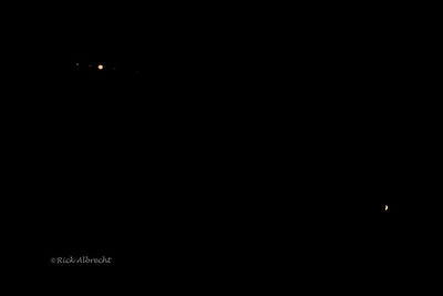 Jupiter and Venus conjunction 6/29/2015
