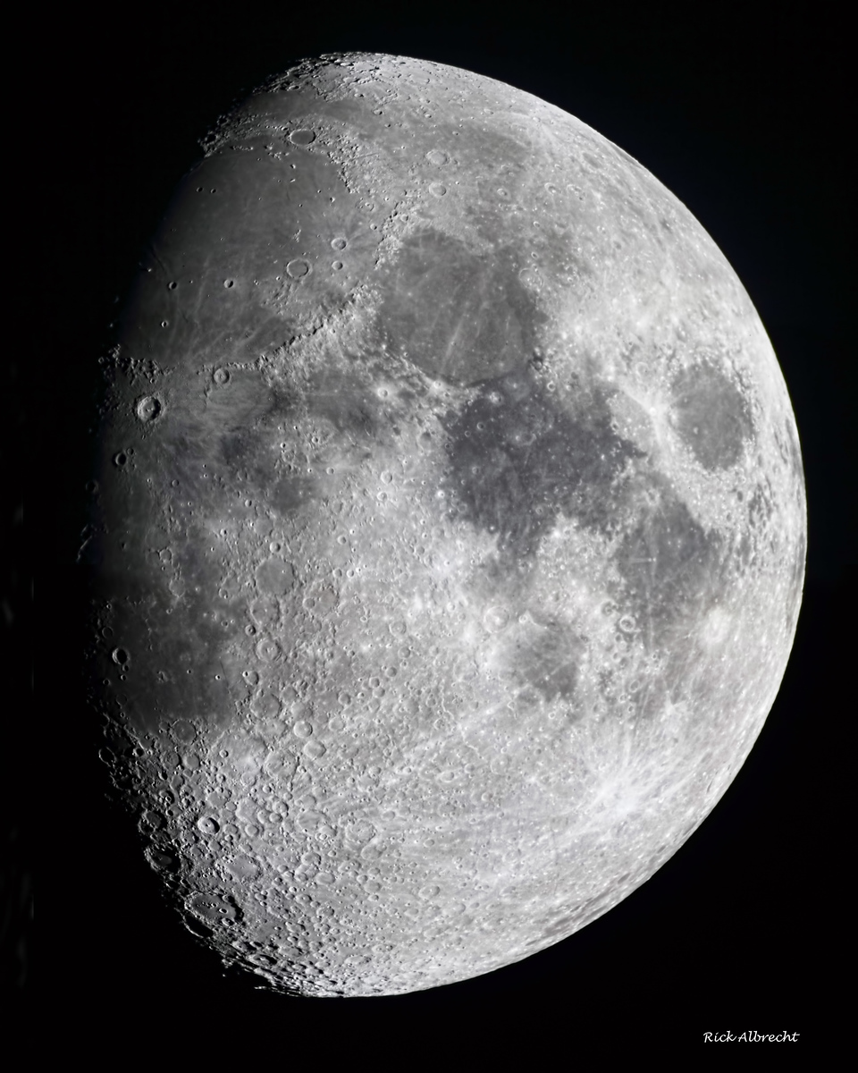 9 Day-Moon 121222   This is a three image panorama taken with a focal length of 4700mm.