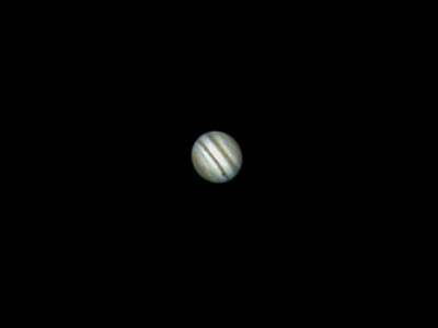 Jupiter, taken on a very windy night, 19th November 2011, in the mountains of Pembrokeshire.