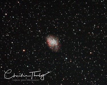Messier 1 The Crab Nebula. A supernova some 6000+ lightyears from earth.