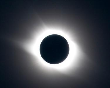 Total Solar Eclipse outside of Bulgan, Mongolia. 1 Aug 2008 Corona