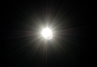 Diamond Ring effect during 2006 Total Solar Eclipse in Egypt